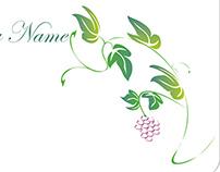 business card wine