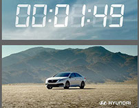 "Hyundai | ""Rocket Launch"" Graphics - NY Times Square"