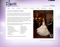 DJnLIVE Brand Identity and Website