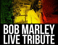 Poster: Bob Marley Live tribute