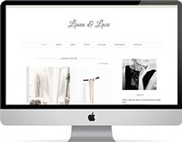 Linen & Lace Template
