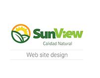SunView WebSite design