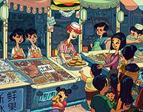 Hamburger Market