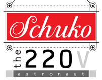 Schuko the 220V Astronaut...