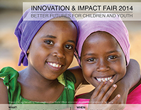 Innovation & Impact Poster for World Vision Canada