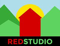 New RED Studio logo