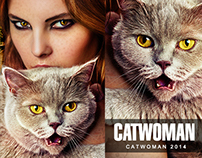 CATWOMAN 2014 - Retouching