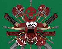 Warhammer 40K Poster Tribute - Orks