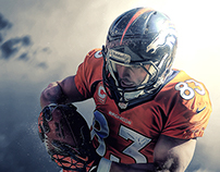 NFL: 'Elements' Retouch Series