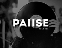 PAIISE Record Label Identity