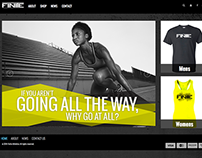Finite Athletics Website