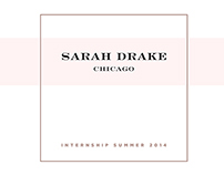 Sarah Drake Studio Internship Reflection