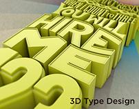 Chris Boyd - 3D Type