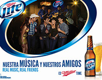 Miller Lite : Hispanic Music