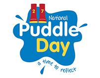 National Puddle Day Identity