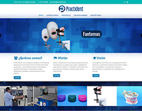 Sitio web Practident de Colombia.