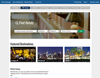 Travel Hotel Redesign