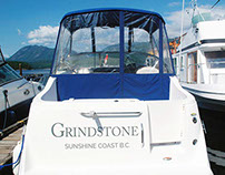Grindstone | Boat Decal