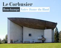 Le Corbusier - Notre Dame du Haut in Ronchamps