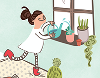 Ella in the Eccentric Plant Shop