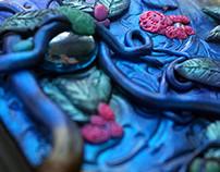 Dream | Polymer clay journal