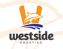Westside Aquactics Logo studies