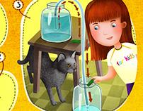 """illustration for """"Karcher experiments for children"""""""