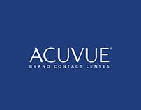 Acuvue Define Web Design