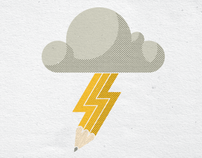 Brain Storm Prints