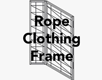 Rope Clothing Frame