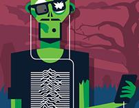 Zombie portfolio infographic