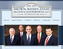 BMEMH Law WordPress Website