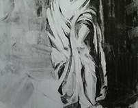 Charcoal on Paper 50x70