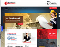 Tradewind group - website design