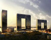 Window of Guangzhou, China