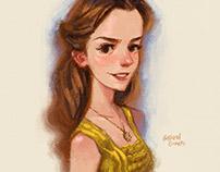 Beauty / Emma Watson - Portrait