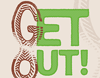Get Out! Greenville Logo
