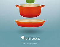 my John Lewis: concept posters