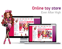 E-shop of toy
