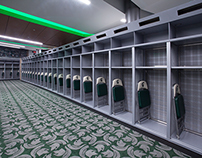 MSU Spartans Store for Success with Banker Wire Mesh
