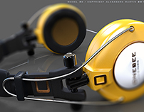 casque yellow