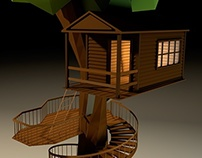 Tree House LowPoly