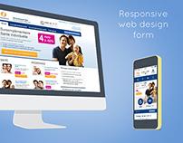 Malakoff responsive design