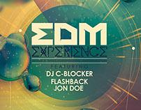 EDM Experience Flyer