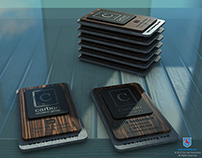 Carbon Creative Identity Design - 3D Visualization