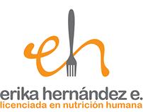 Branding- erika hernández nutritionist