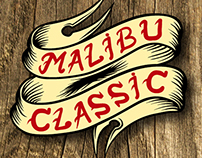 Stickers/Logos para banda musical Malibu Classic