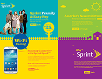 Sprint Single Web Page/Retail