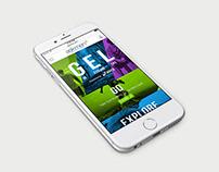 Asics Gel - Website Design