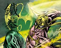 The Immortal Iron Fist - Comic  Art